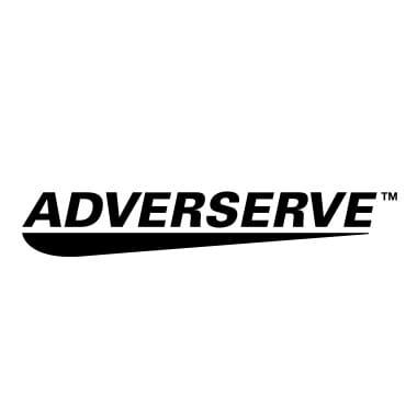 Adverserve Logo schwarz