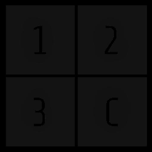 123Consulting Logo in schwarz weiß