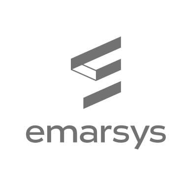 Emarsys Logo in grau