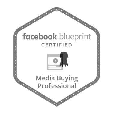 facebook blueprint certified Media buying professional logo
