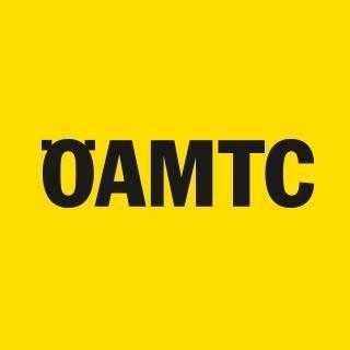 Logo ÖAMTC schwarz auf gelbem Hintergrund