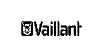 Vaillant Logo schwarzer Hase neben schwarzem Vaillant Schriftzug Partner 123Consulting