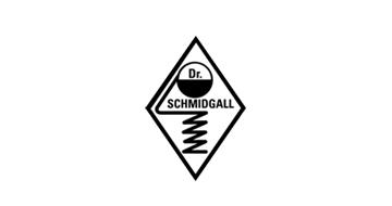 Dr. Schmidgall Logo in schwarz-weiß