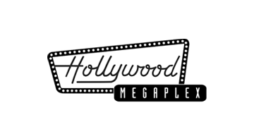 Hollywood Megaplex Logo schwarz-weiß