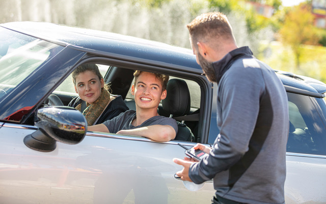 ADAC Junge Fahrer Training n Südbayern