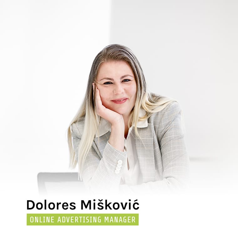 Dolores Miskovic - Online Advertising Manager