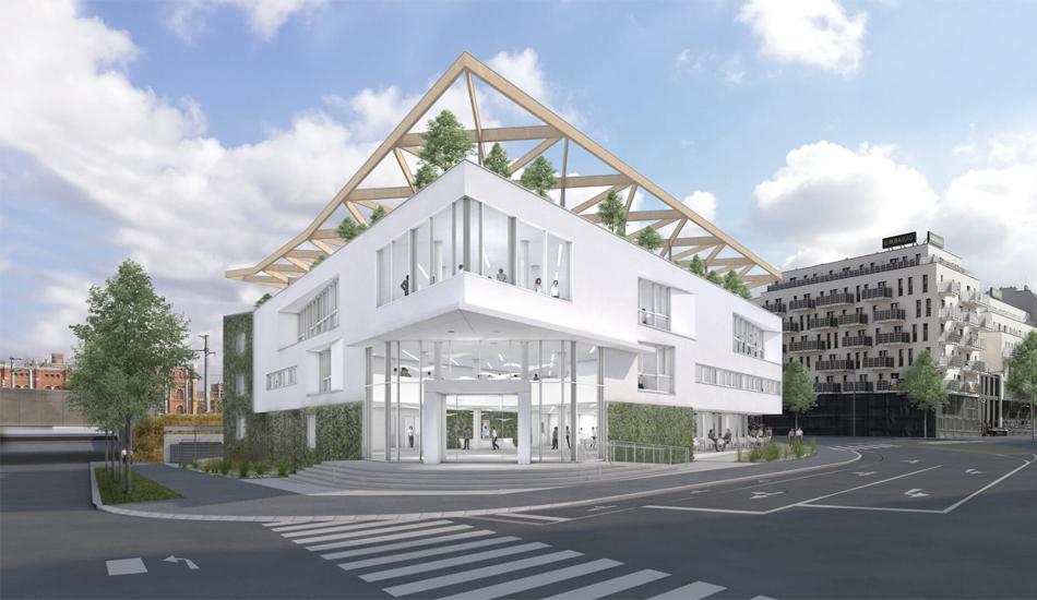 virtuelle Darstellung des Cape 10 Gebäudes