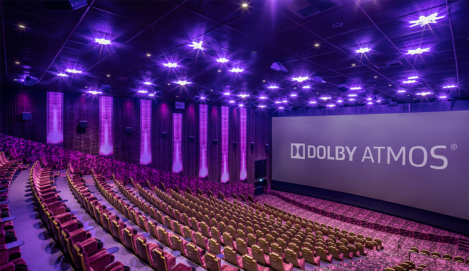 Kinosaal Dolby Atmos Hollywood Megaplex Partner 123Consulting