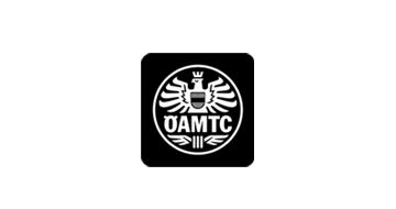 ÖAMTC Logo schwarz weiß